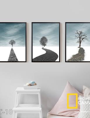 Bộ 3 tranh cây Wt-10