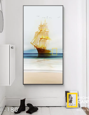 Tranh Canvas Thuyền buồm WT-180