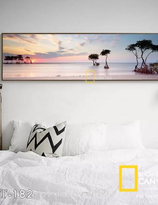 Tranh Canvas Hoàng hôn Bãi biển WT-182
