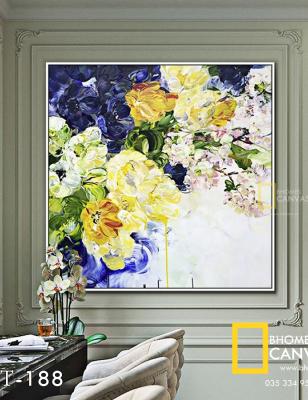 Tranh Canvas hoa sơn mài  WT-188