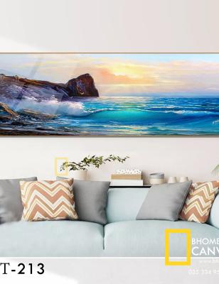 Tranh Canvas bãi biển WT-213