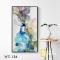 Tranh Canvas Hoa văn trừu tượng WT-136