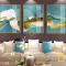 Bộ 3 Tranh Canvas Sông núi vàng WT-143