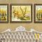 Bộ 3 Tranh Canvas phong cảnh cây và hươu WT-225