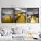 Bộ 3 Tranh Canvas phong cảnh Núi và ngọn hải đăng WT-240