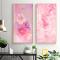 Bộ 2 Tranh Canvas Hoa hồng WT-260