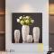 Tranh Canvas Bình hoa Hồng trắng WT-271