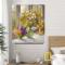Tranh Canvas Hoa cúc họa mi WT-90