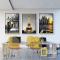 Bộ 3 Tranh Canvas Tháp Eiffel WT-93