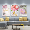 Bộ 3 tranh treo tường Hoa hồng WT-285