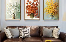5 Ý tưởng dùng khung tranh kết hợp với tranh canvas tô điểm không gian sống